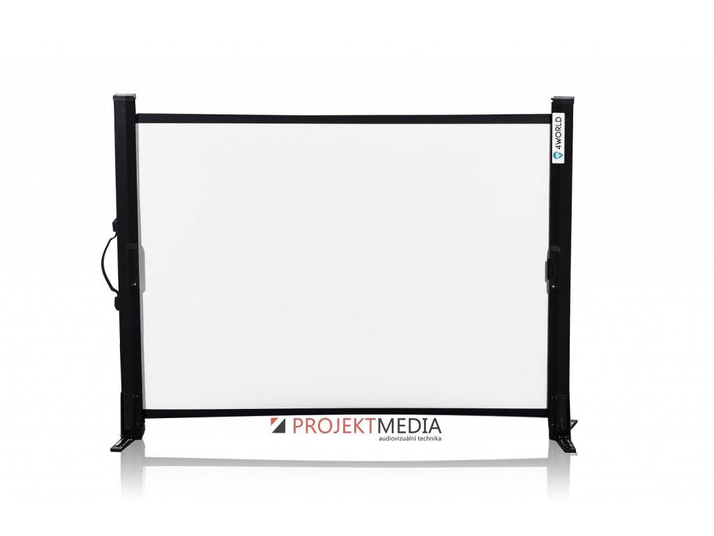 4World Projekční plátno stolní 102x76 50'' 4:3