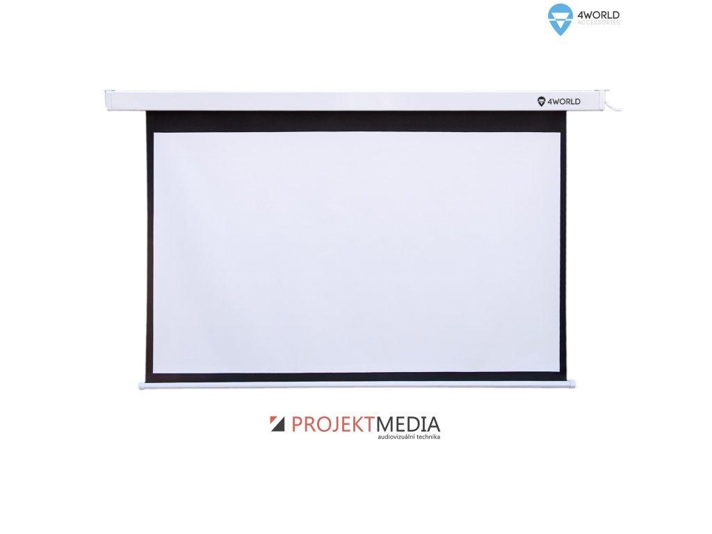 4World Projekční plátno manuální 160x120 80'' 4:3 16:9