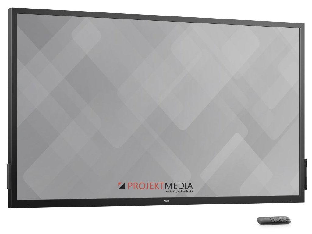 70'' LCD Dell C7017T konferenční monitor Touch /VGA/HDMI/MHL/DP/USB/3RNBD/Černý - dotykový