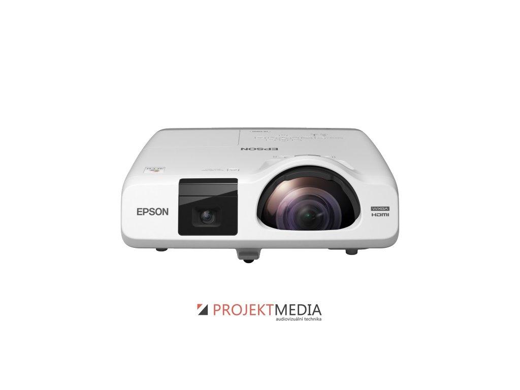 EPSON EB-536Wi WXGA 3400 Ansi 16000:1 LAN HDMI  + prodloužená záruka 60 měsíců