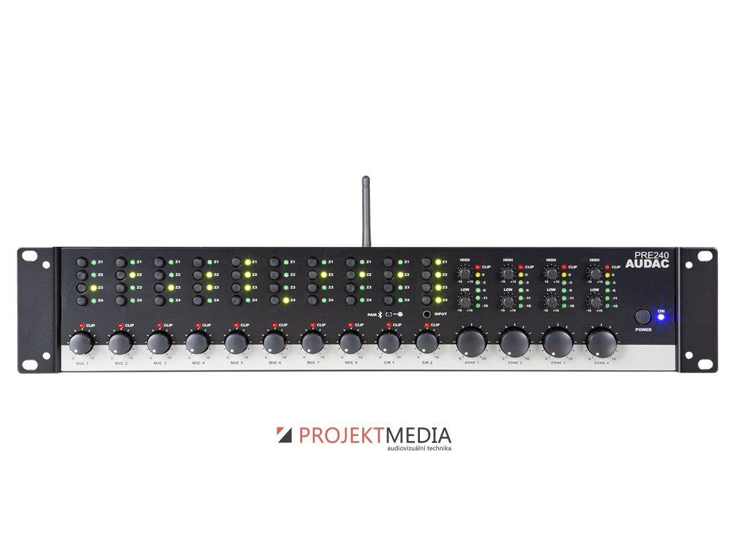 22949 audac pre240 stereofonni predzesilovac 10kanalovy 4zonovy