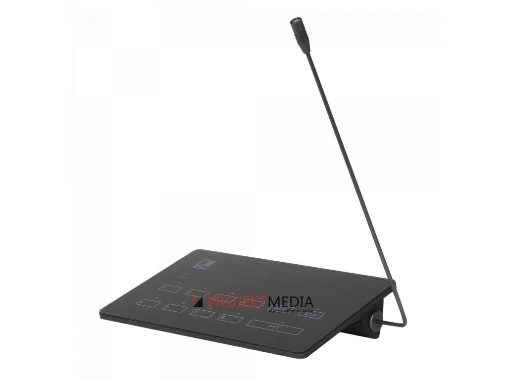 23054 audac mpx88 mikrofonni stanice pro hlaseni do 8 zon kompatibilni s maticovou jednotkou mtx88