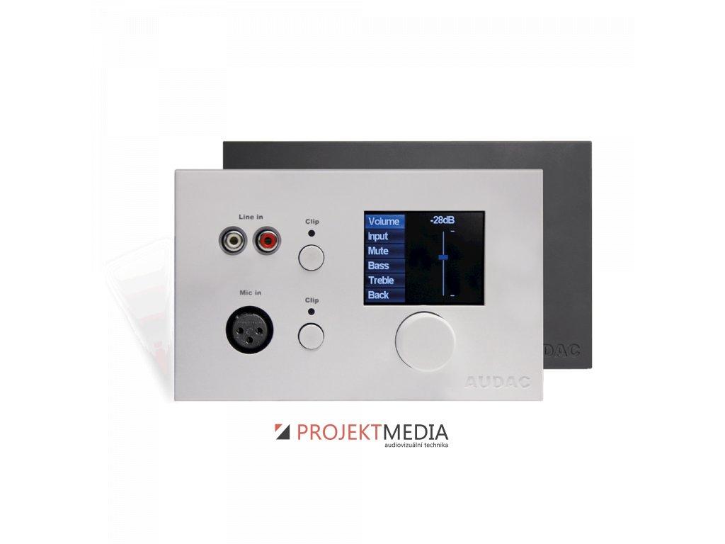 23081 audac dw5066 b ovladaci nastenny panel pro matici r2 cerny