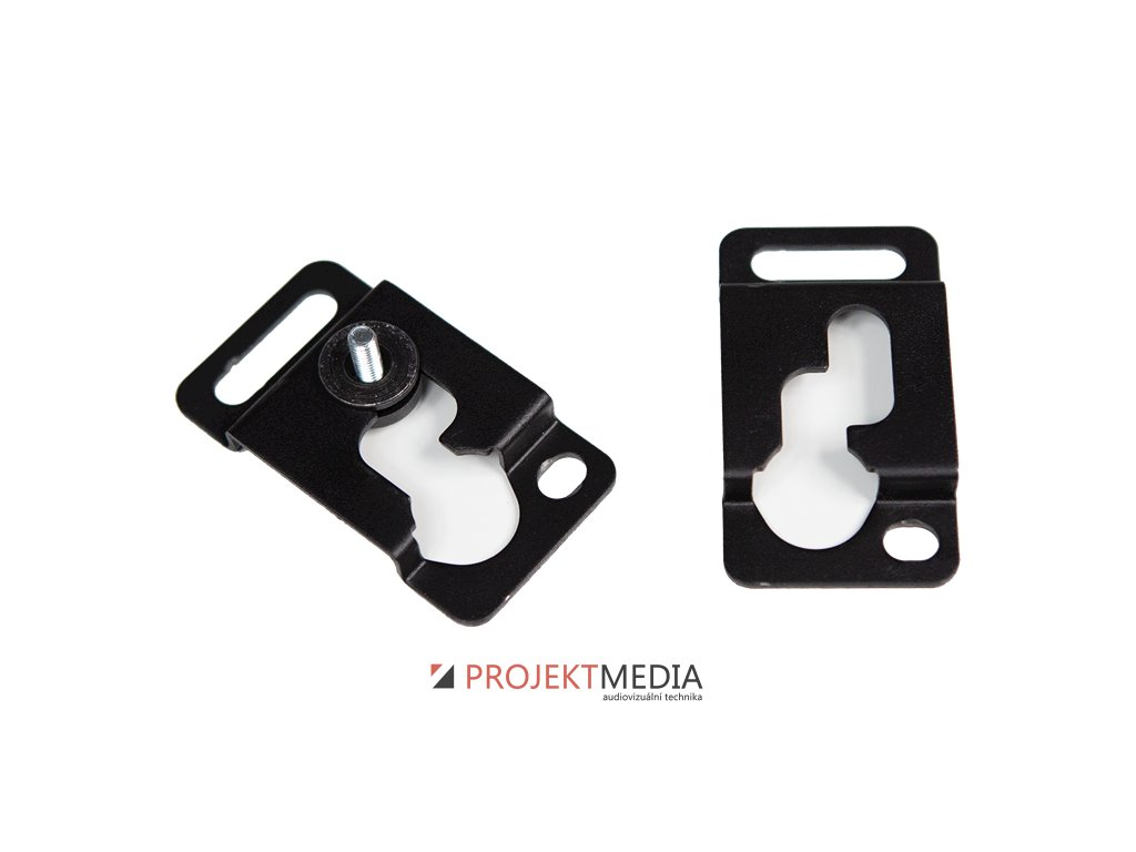 23639 audac mbk101 wall mounting bracket for bass cabinets