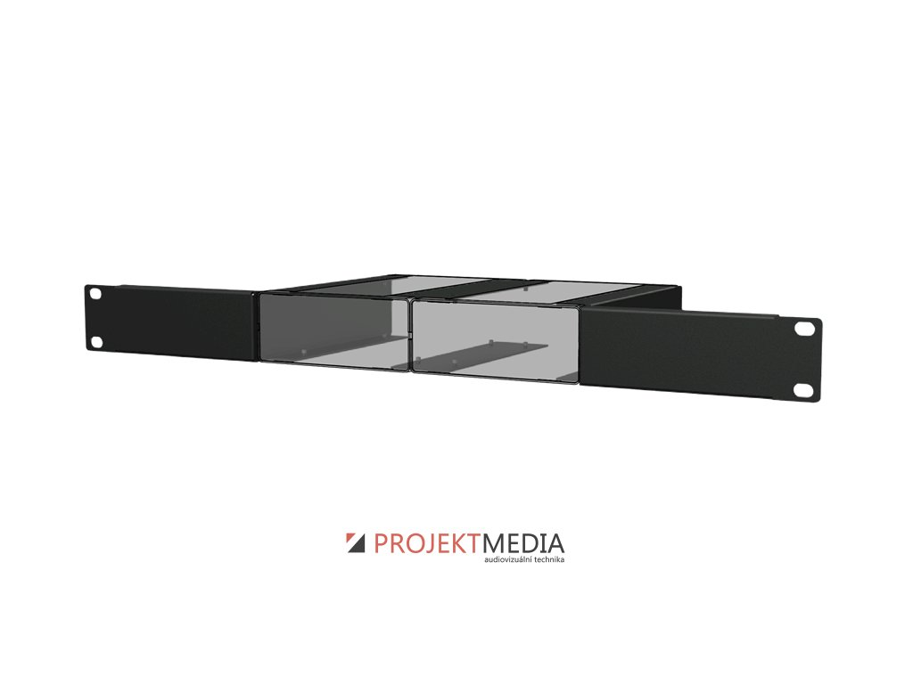 23870 audac mbs102r instalacni prislusenstvi k montazi 2 jednotek audax s box do 19 stojanu