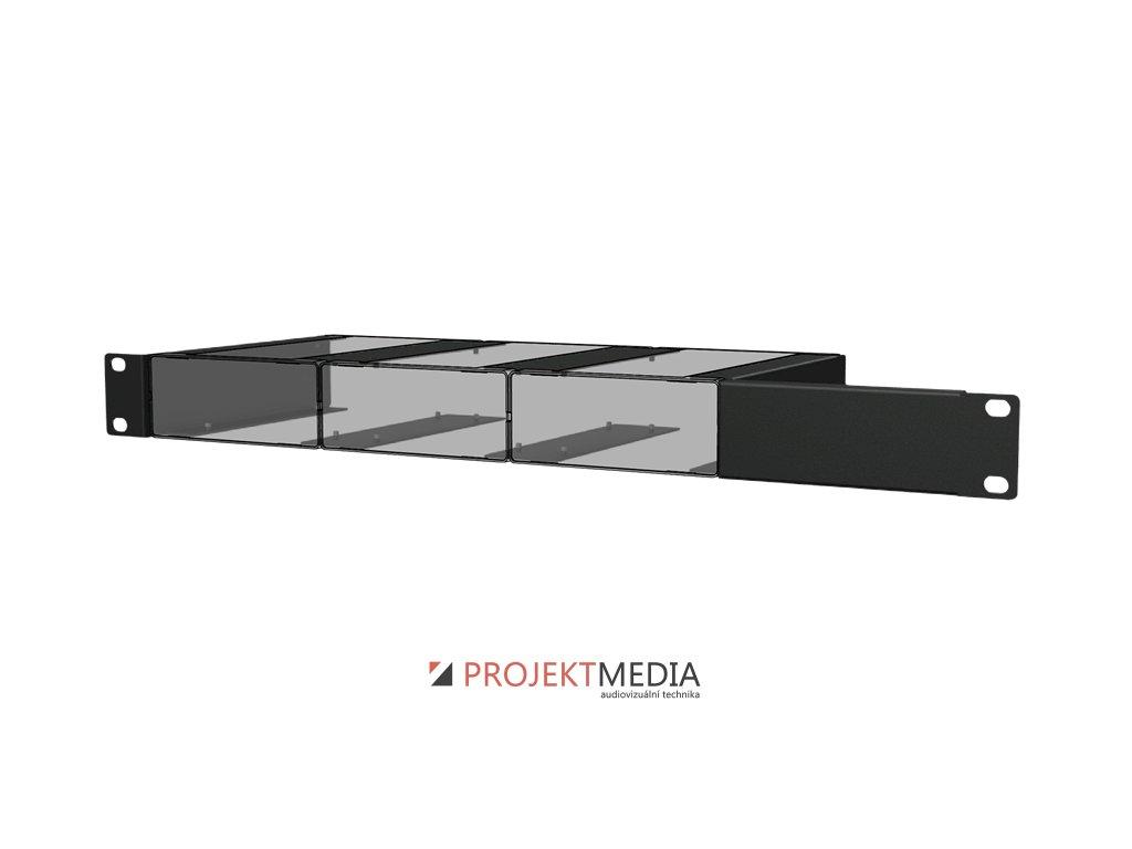 23873 audac mbs103r instalacni prislusenstvi k montazi 3 jednotek audax s box do 19 stojanu