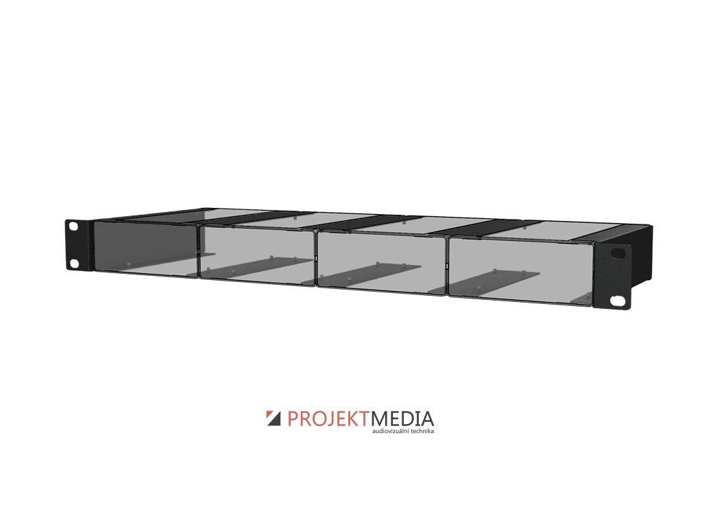 23876 audac mbs104r instalacni prislusenstvi k montazi 4 jednotek audax s box do 19 stojanu