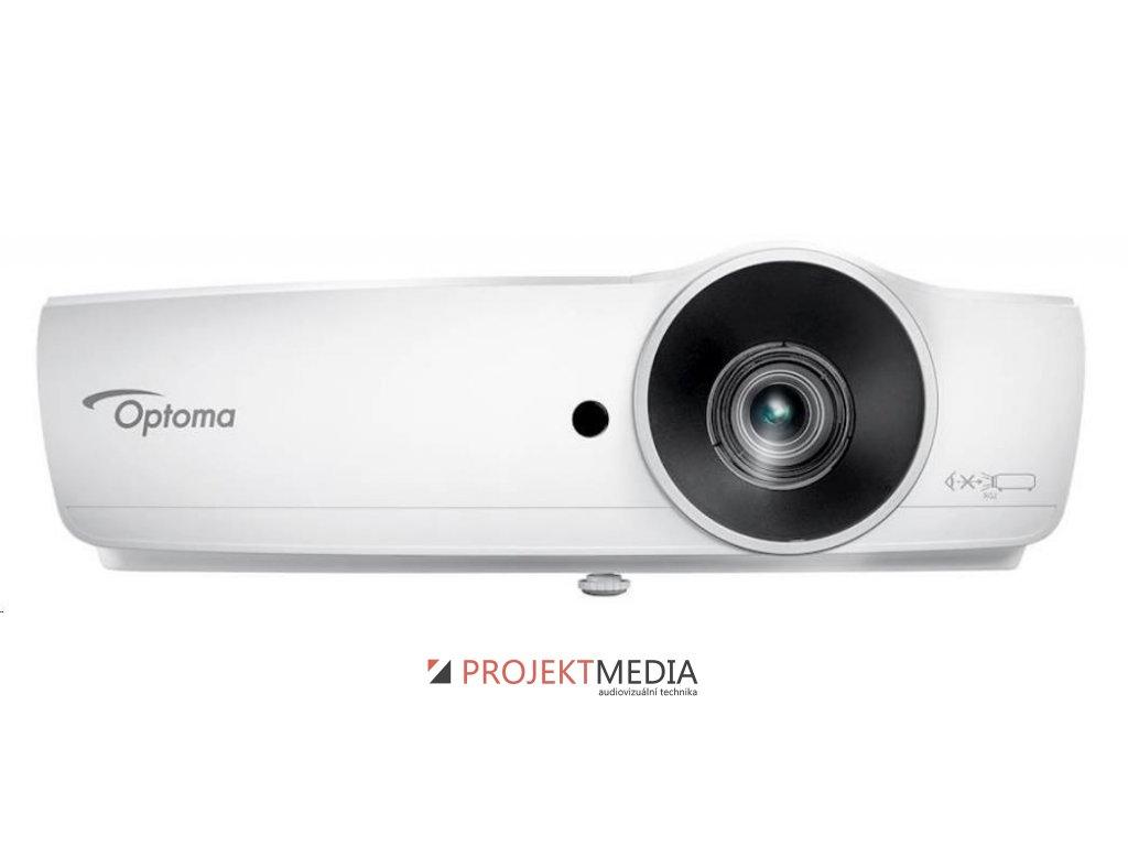 Optoma projektor W461 (DLP, WXGA, FULL 3D, 5 000 ANSI, 20 000:1, VGA, USB, HDMI with MHL support, built-in speaker)