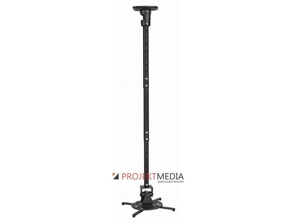 Držák projektoru MP0020 s teleskop. tyčí- black