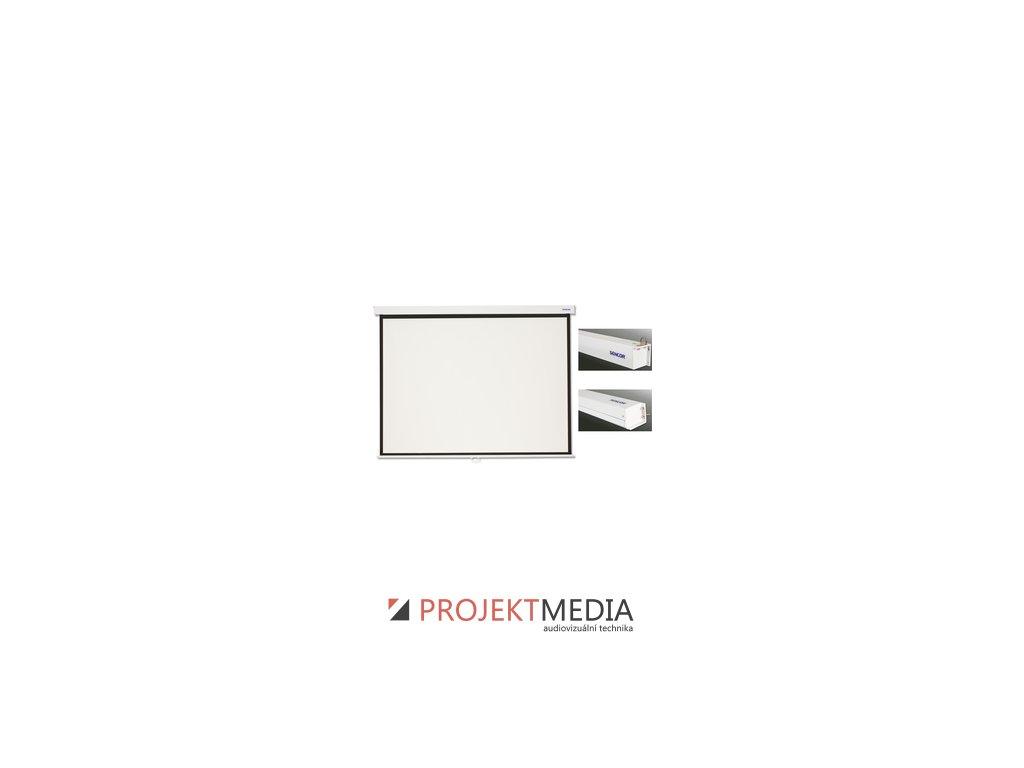 SMS N305W projekční plátno man Sencor