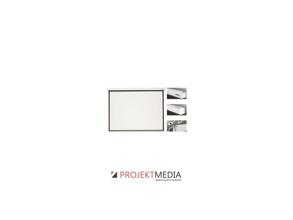 SES N279W projekční plátno el Sencor