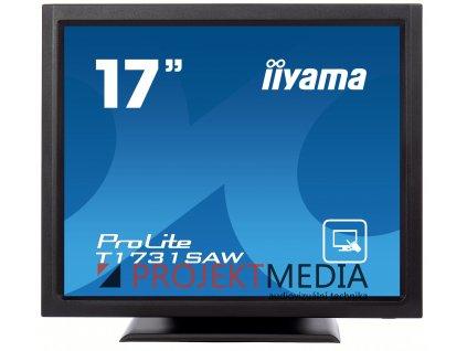 17'' iiyama T1731SAW-B5: TN, SXGA, SAW, 1P, 250cd/m2, VGA, DP, HDMI, černý
