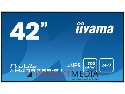 42'' LCD iiyama ProLite LH4282SB-B1 - IPS,HDMI,DP