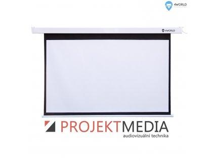 4World Projekční plátno manuální 170x127.5 84'' 4:3