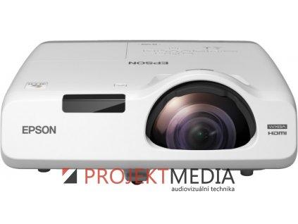 EPSON EB-535W WXGA 3400 Ansi 16000:1 LAN HDMI  + prodloužená záruka 60 měsíců