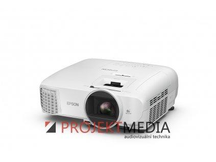 EPSON EH-TW5600,FullHD, 2500 Ansi 35000:1 + plátno Aveli 200 x 125  + 20 ks respirátorů FFP2/KN95