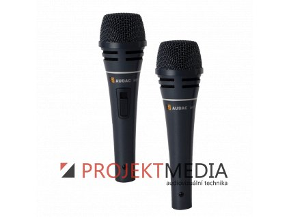 23003 audac m87 profesionalni vokalni dynamicky dratovy mikrofon s vypinacem