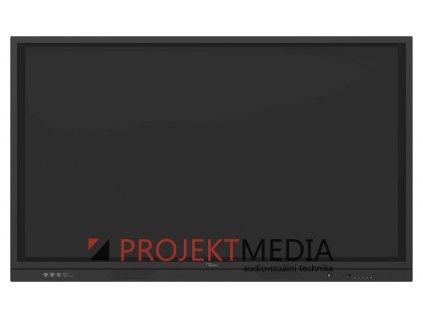 """Optoma 3861RK IFPD 86"""" - interaktivní dotykový, 4K UHD, multidotyk 20prstu, Android, antireflexní tvrzené sklo"""