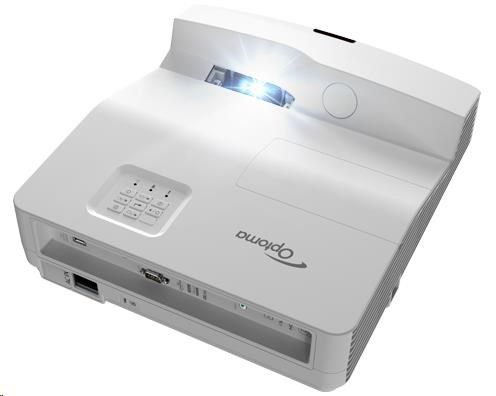 Optoma projektor W330UST (DLP, WXGA, 3 600 ANSI, 20 000:1, HDMI, VGA, RS232, 16W speaker) E1P1A1FWE1Z1