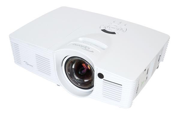 Optoma projektor GT1080e short throw (DLP, FULL 3D, 1080p, 3 000 ANSI, 25 000:1, 2x HDMI, MHL, USB, 10W speaker) 95.8ZF01GC2E