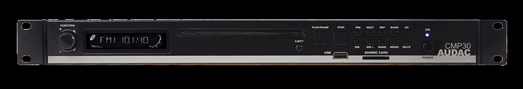 AUDAC CMP30 Digitální audio přehrávač CD, USB, SD/MMC, FM/AM RDS tuner