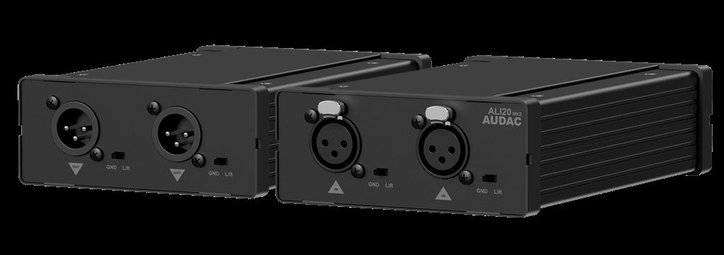 AUDAC ALI20MK2 Galvanické oddělení linkového vedení zvuku