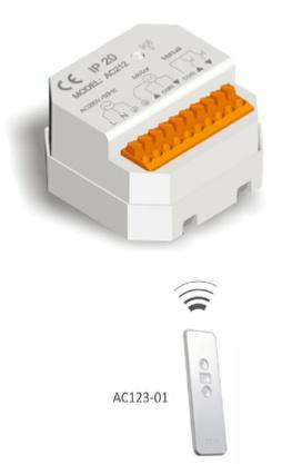 A-OK Externí RC přijímač a vysílač