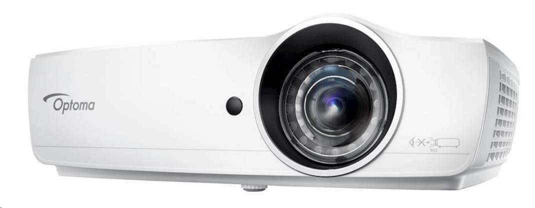 Optoma projektor EH460ST (DLP, FULL 3D, FULL HD, 4 200 ANSI, 20 000:1, HDMI, MHL, VGA, Audio, USB, 1
