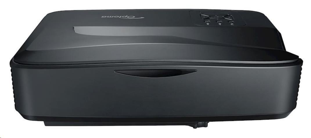 Optoma projektor ZH420UST black (DLP, FULL 3D, Laser, FULL HD, 4000 ANSI, 2xHDMI, VGA, Audio, RS232,