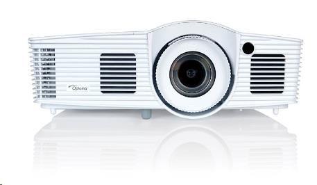 Optoma projektor EH416e (DLP, 1080p, 4 200 ANSI, 20 000:1, 2x HDMI (1x with MHL), VGA, RJ45, RS232, 10W speaker) E9PD72W02EZ1