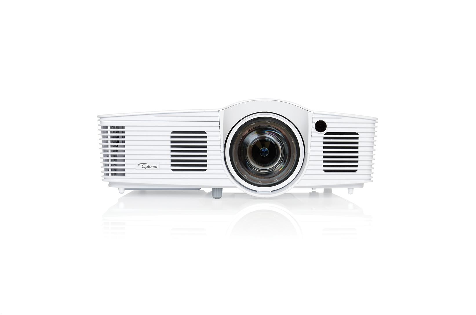 Optoma projektor EH200ST DLP Projector Short Throw (Full 3D, 1080p, 3000 ANSI, 20000:1,HDMI with MHL