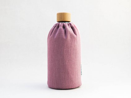 sklenená láhev na pití