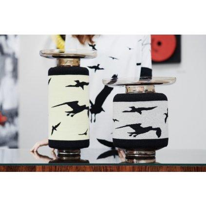 Knitted Shapes Vase
