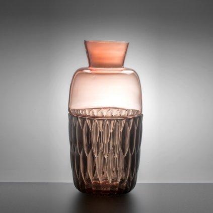 Skleněná váza STARQuiola od Jakuba Berdycha