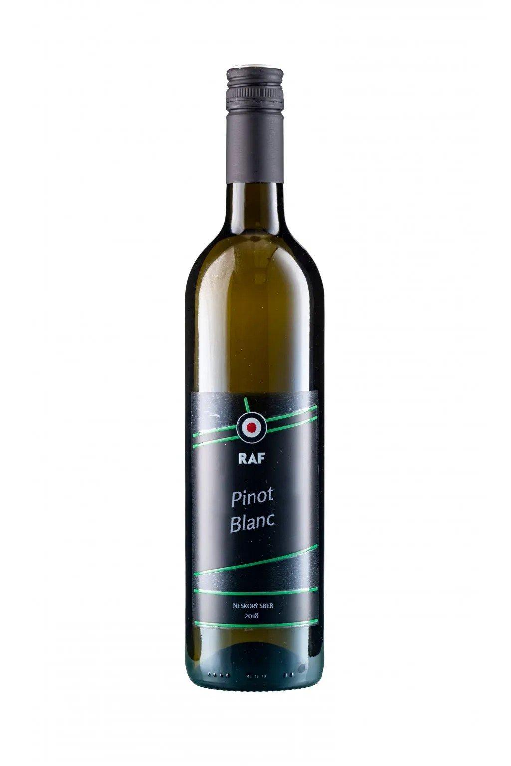 180004 Pinot Blanc 2018, pozdní sběr, suché (F)