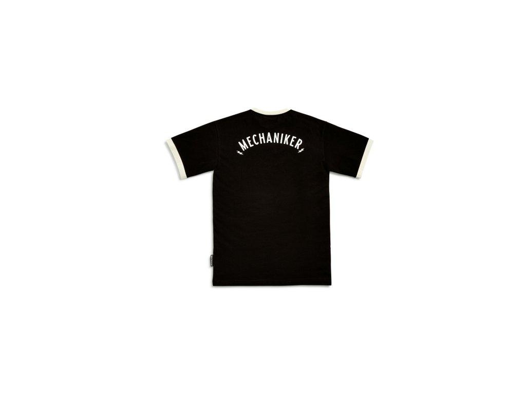 Pánské tričko Built černé