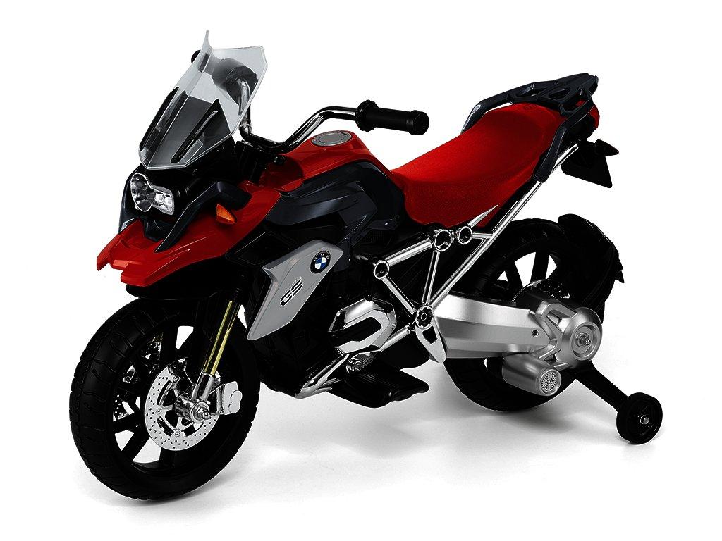 Motorka BMW R1200 GS na elektrický pohon