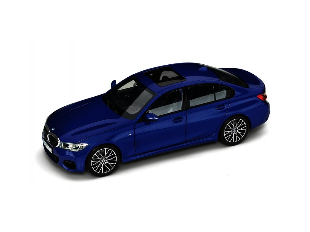 Miniatura vozu 1:18 BMW G20 řady 3