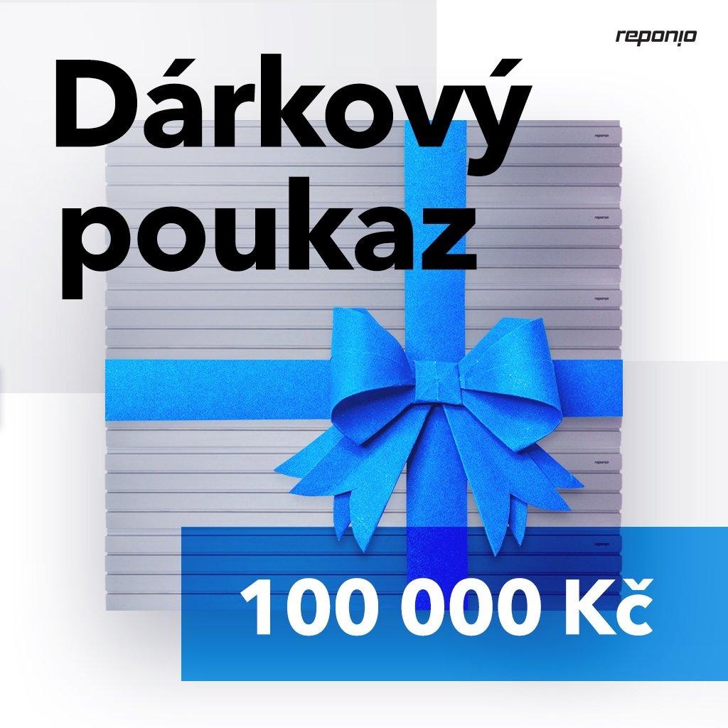 Reponio darkovy poukaz 100