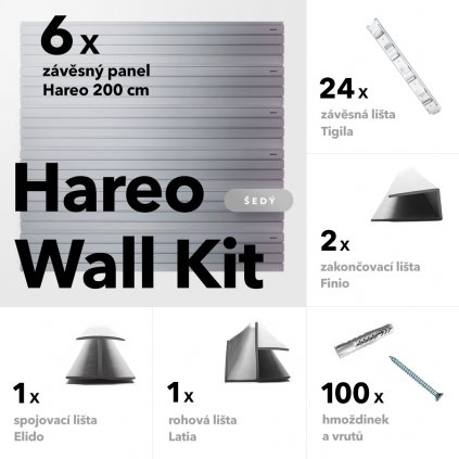Hareo wall kit