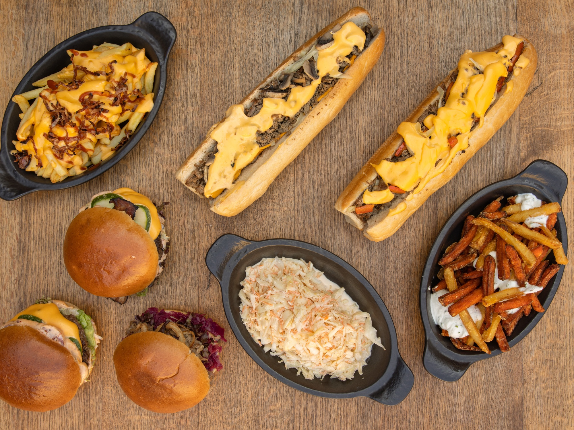 Americký fast food Praha, Burgers, Philly Cheese Steaks