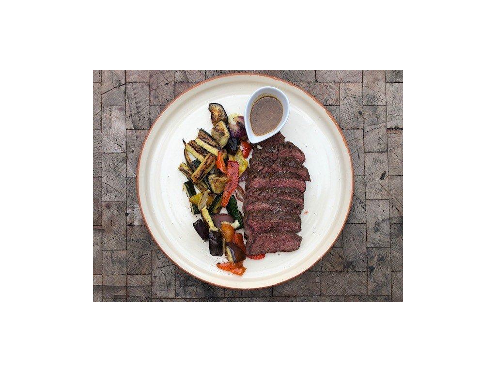 steak z řetízku