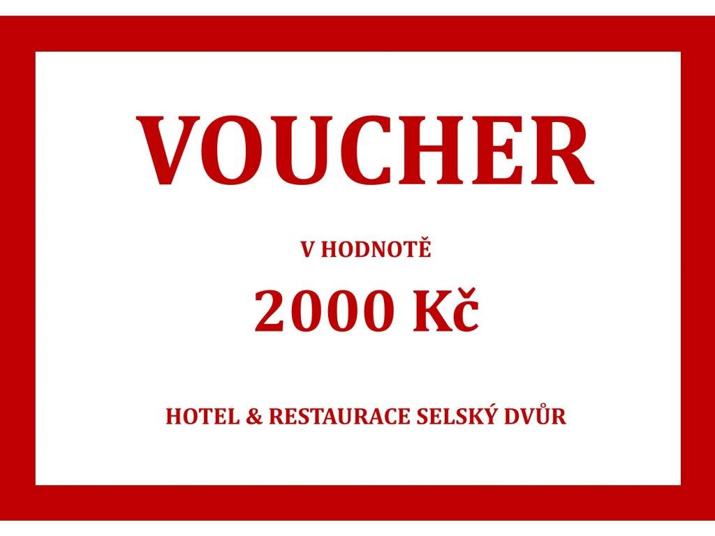 voucher na hotel a gastro e shop 2000