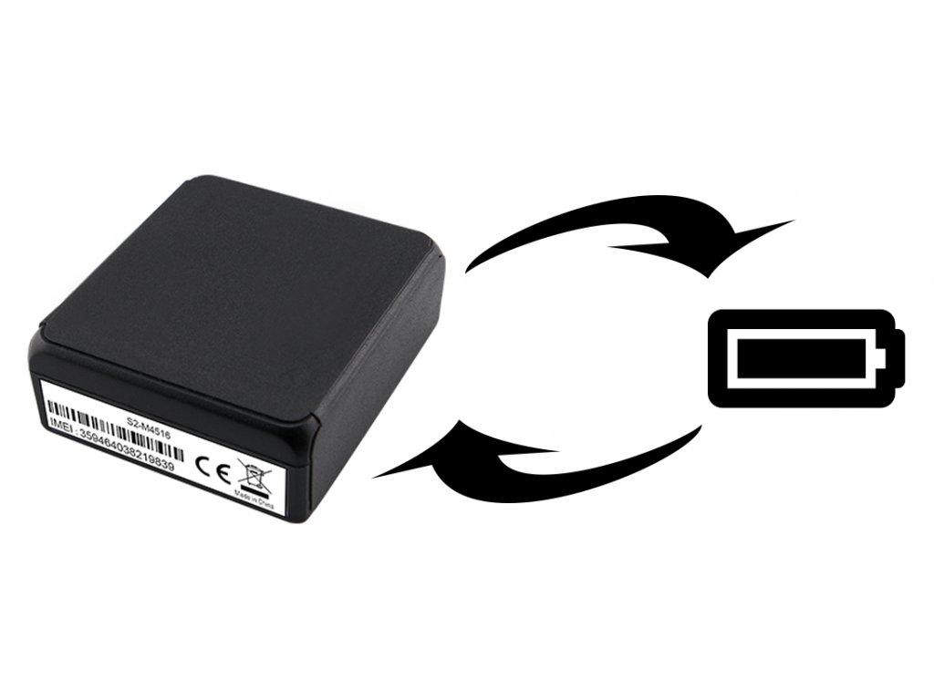 REXlink battery Mini vymena baterie