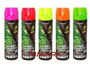 Spray Biodur Forest značkovací fluo rimark