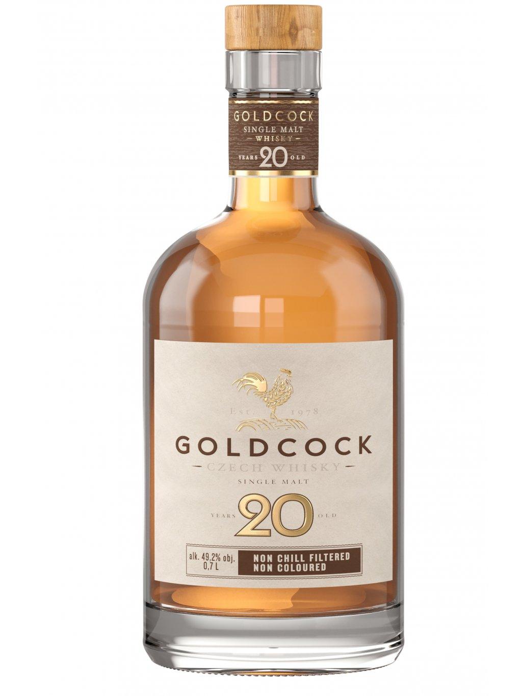 GOLDCOCK Single Malt 20yo 49,2% 0,7l