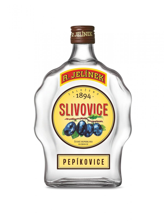 Slivovice R. JELÍNEK s vlastní etiketou