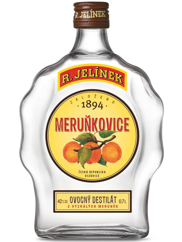 Meruňkovice 42% 0,7l