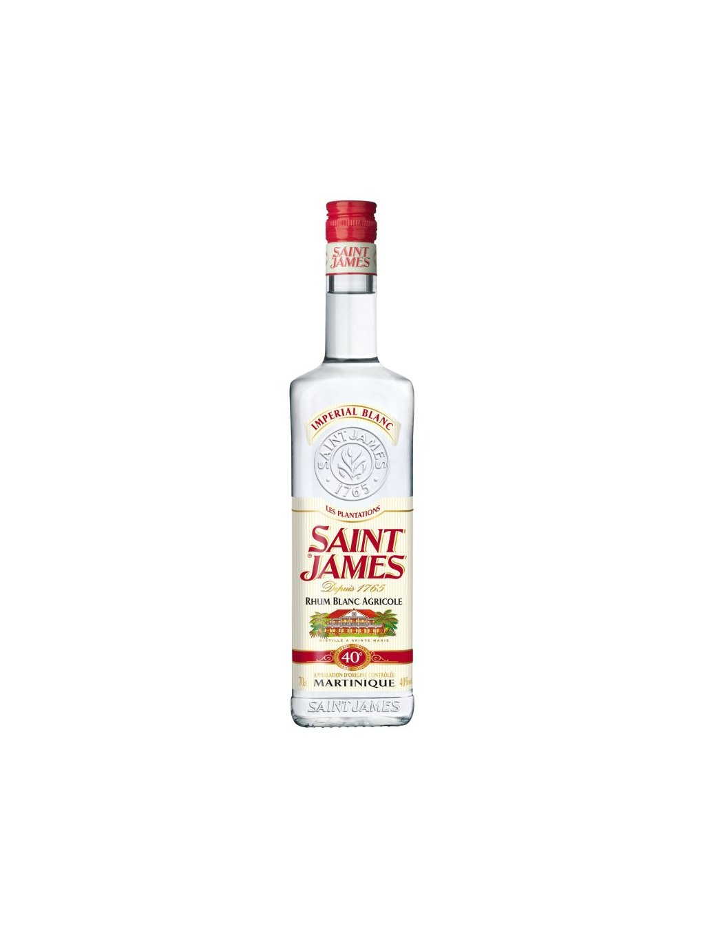 Saint James Imperial Blanc 40% 0,7l