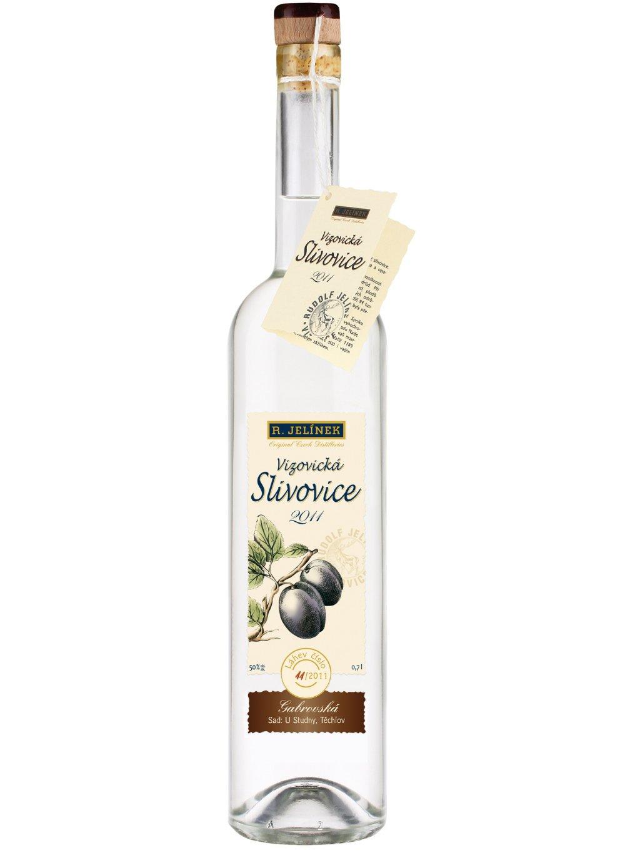 Vizovická slivovice 2011 Gabrovská 50% 0,7l